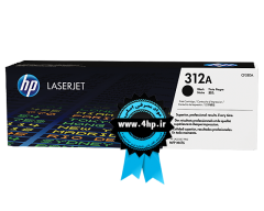 HP 312A Black Original LaserJet Toner Cartridge CF380A